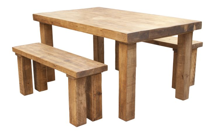 Our chunky Dining Tables and Benches are the ultimate way to show off to anyone at a dinner party. Built from the most quality timber, they will last forever.