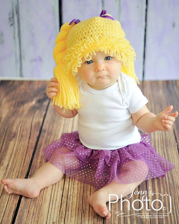 Cabbage Patch Doll Hat  Cabbage Patch inspired by MySweetKnittings, $35.00