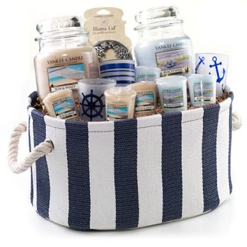 Beach Lover's Maritime Gift Basket (Online & Catalog Exclusive) : Gift Basket : Yankee Candle