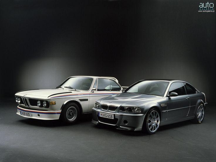 BMW E21 M3 and E46 M3 CSL