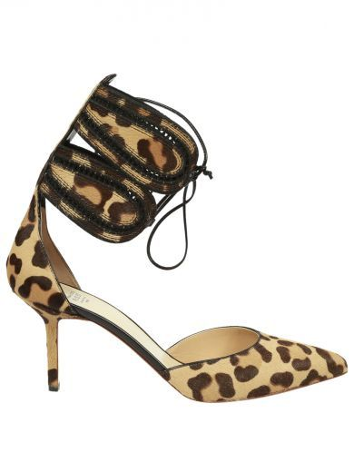 FRANCESCO RUSSO Francesco Russo Leopard Printed Pumps. #francescorusso #shoes #francesco-russo-leopard-printed-pumps
