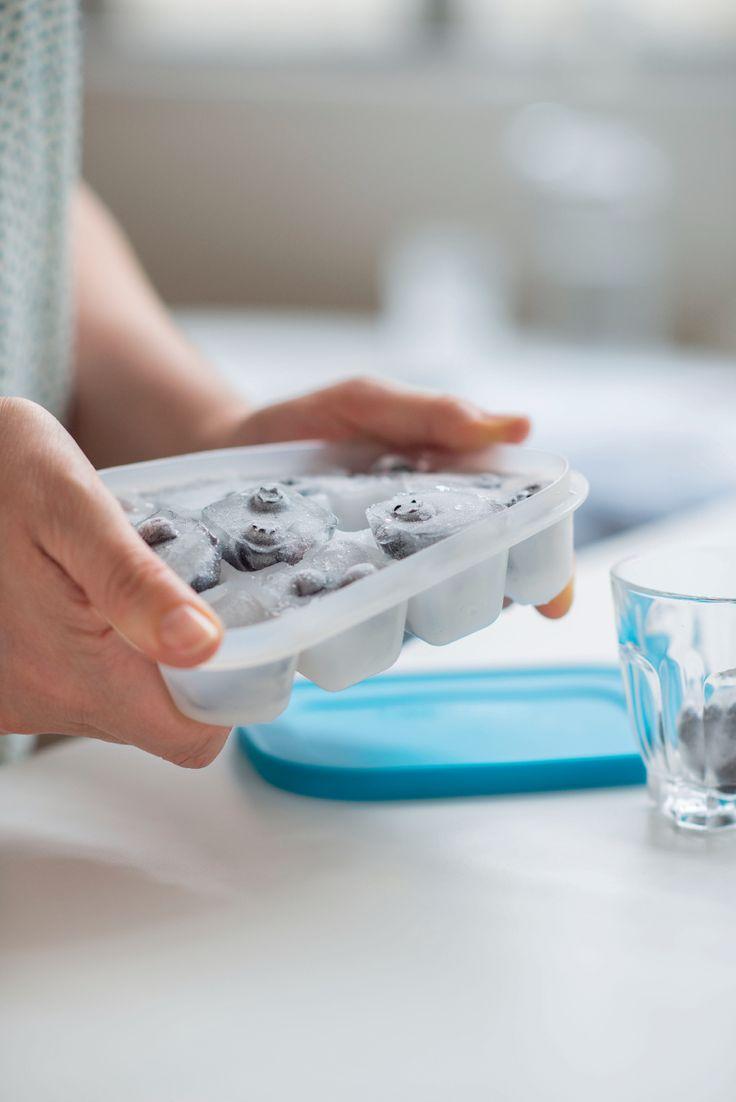 Cubetti di ghiaccio aromatizzati? Perché no con Tupperware!