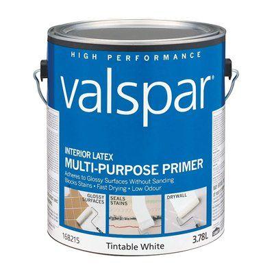 Valspar Interior Latex Tintable White Multi-Purpose Primer