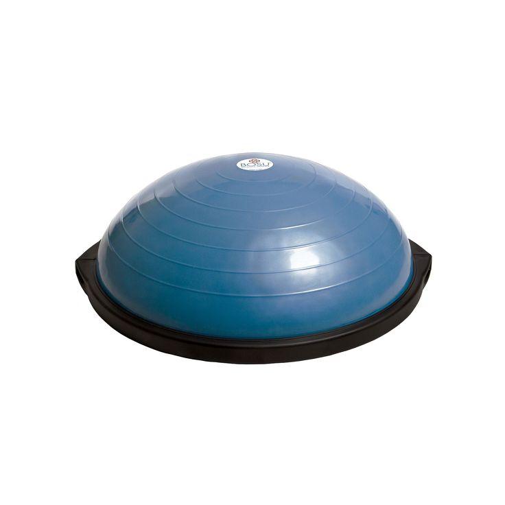 Bosu Balance Trainer & 2-Disc DVD Set, Blue