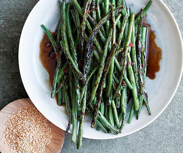 Gwyneth Paltrow's Szechuan-Style Green Beans