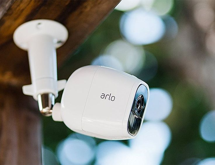 The indoor/outdoor Arlo Pro 2 security system monitors your home, pets, loved ones, and visitors with cameras that record crisp 1080 HD video, offering 2-way audio, sound and motion detection, night vision, free cloud storage, a 100+ decibel security siren, and lots more. Cameras are IP65 certified for weather resistance, and the system works with Amazon Alexa, Google Assistant, IFTTT & Stringify.