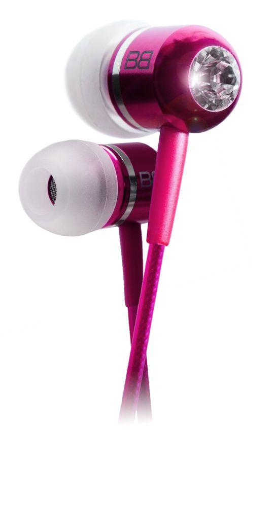 Bassbuds PINK fashion earphones