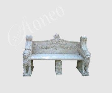 Carnuntum - ławka kamienna