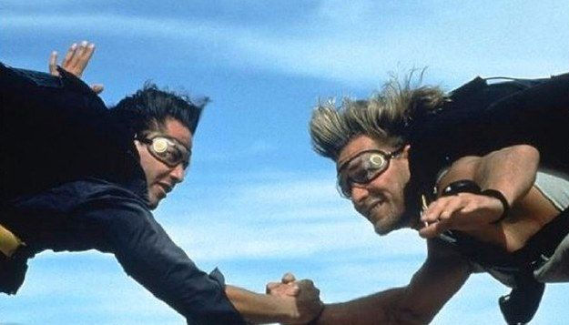 "*m. The 1991 film Point Break is an utter, unmitigated masterpiece*. | The New ""Point Break"" Remake Trailer Is Out And People Are Not Happy"