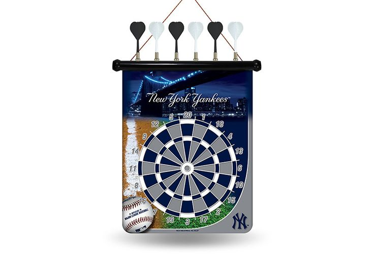 MLB New York Yankees Magnetic Dart Board