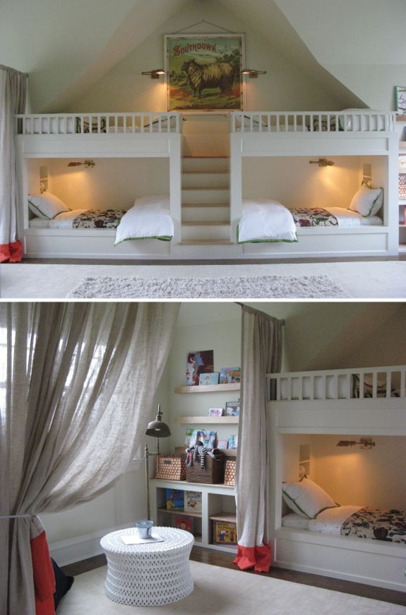 Children S Nook Curtained Off Like The Bands On D Lisa Sherry Kid Stuff In 2018 Pinterest Bedroom Kids And House
