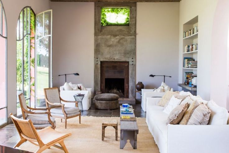 """This marvelous living room is from our feature """"Peace of Mind"""""""