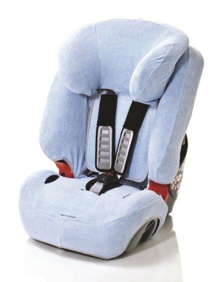 Britax Römer Summer car seat cover Evolva 1-2-3 & Evolva 1-2-3 Plus, light blue