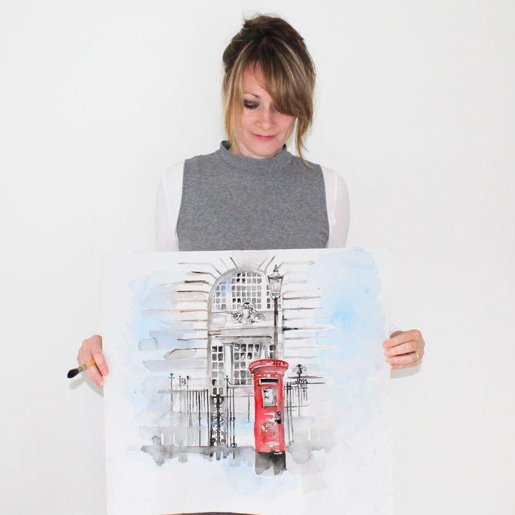 Jennifer Rose original artworks at www.jenniferrose.gallery