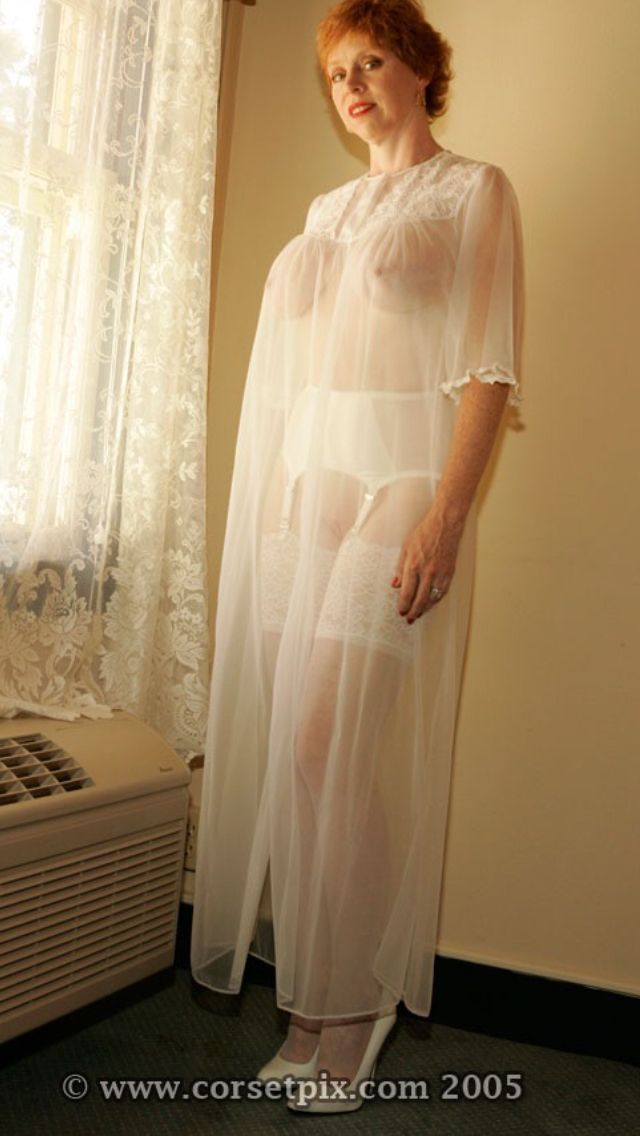 Mature Sex Nightgown 109