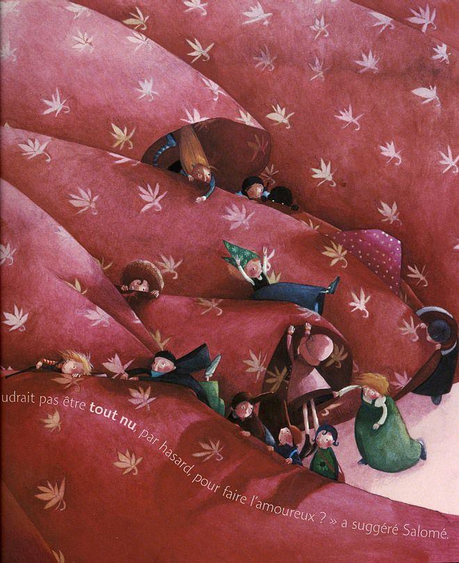 kidpix: Rebecca Dautremer. L'Amoureux. (c) 2005.