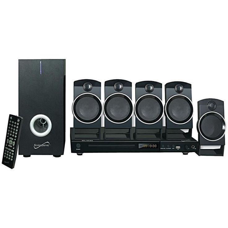5.1-Channel DVD Home Theater System #hometheater