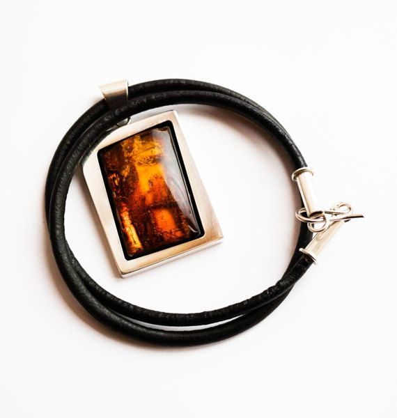 Luxury Baltic Amber Sterling Silver by APPUSSTUDIOJEWELLERY