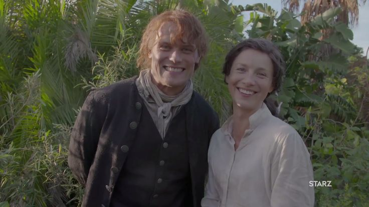 New Sam & Caitriona On-Set Video for World Outlander Day | Outlander TV News