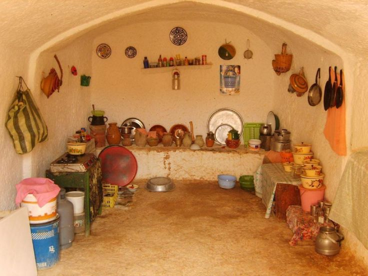 Кухня берберского дома Kim S de Birmingham, CC BY-SA 2.0
