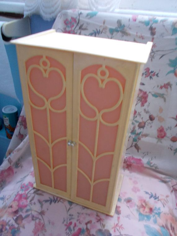 Vintage 1970s Sindy Doll Wardrobe with Pink by TheAtticofKitsch