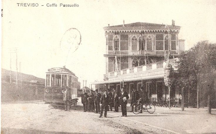 Vintage postcard: There was a tram? #MaisonMatilda #Treviso #Vintage #Italy