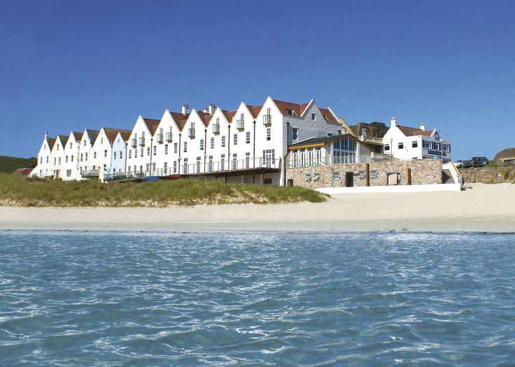 Alderney Braye Beach Hotel. Lovely view across the water.