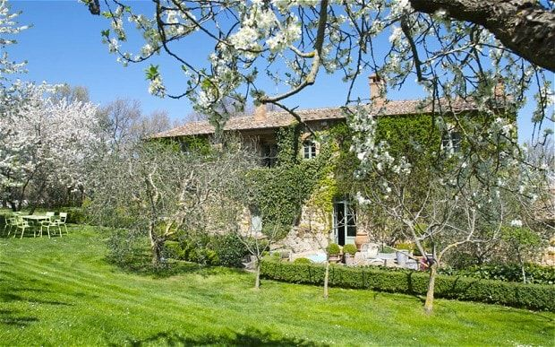 Tricia Guild, the interior designer, has put her Tuscan home on the market for    £1.65m.