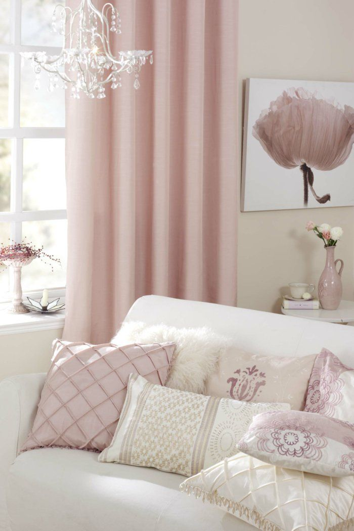 28 best Gardinen images on Pinterest Sheer curtains, Paint and - Gardinen Wohnzimmer Grau