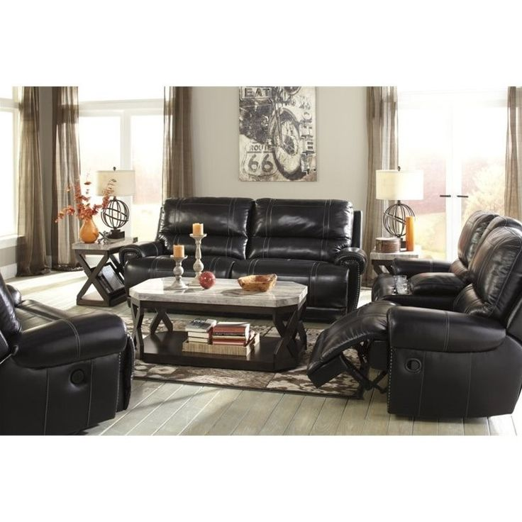 17 Best Ideas About Ashley Leather Sofa On Pinterest Leather Living Room Furniture Leather