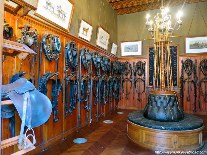 See horse stables and other parts of Chaumont - the Loire Valley