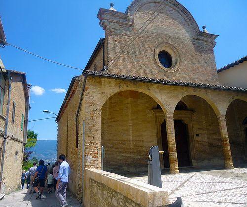 Chiesa di S. Illuminata #InMontefalco foto di @Roberto Grassilli