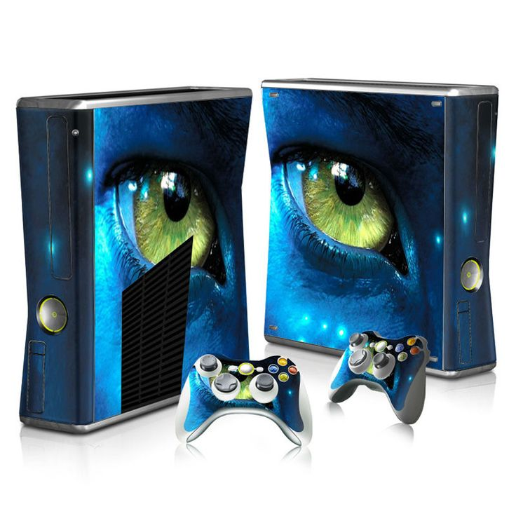 >> Click to Buy << Colorskin Eyes Vinyl Skin Sticker Protector for Microsoft Xbox 360 Slim and 2 Controller Skins Stickers for video games #Affiliate