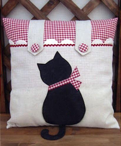almofada gatinho
