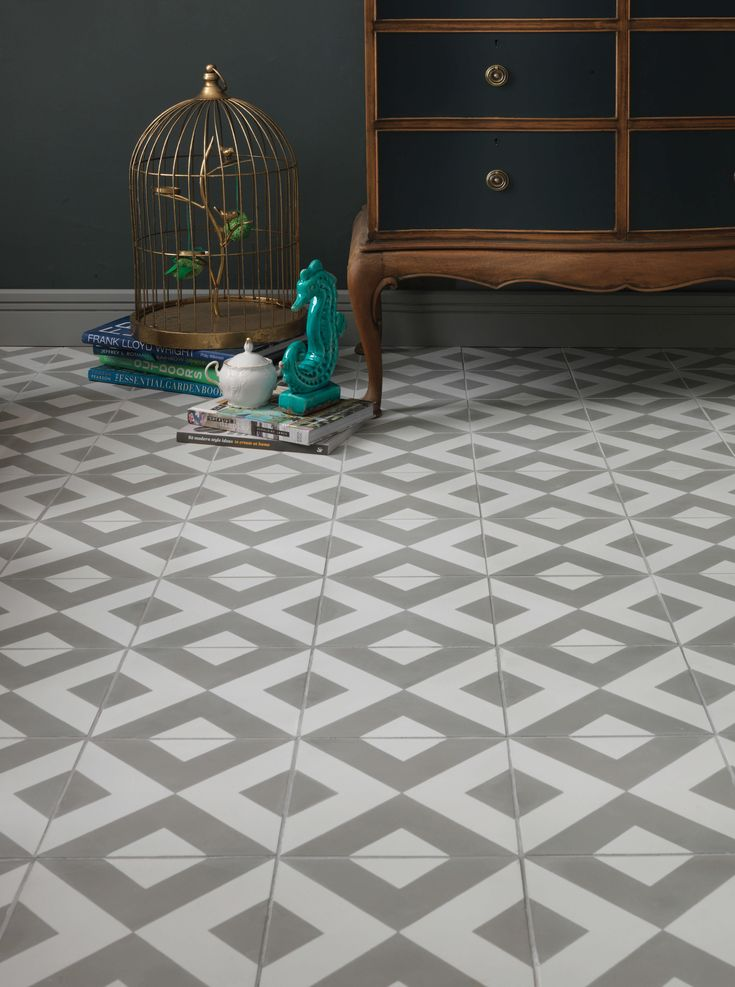 Mejores 203 imgenes de tiles en pinterest azulejos cuartos de modern harlequin is our best selling encaustic tile and will add a subtle touch of pattern and colour into your home the tiles rhythmic pattern and malvernweather Choice Image