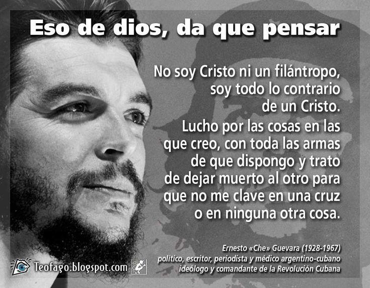Frases del Che Guevara - Taringa!