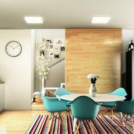STRUCTURAL 40X40 natynkowa  szkło satynowe 230V 2G11 2x24W Redlux/Rendl
