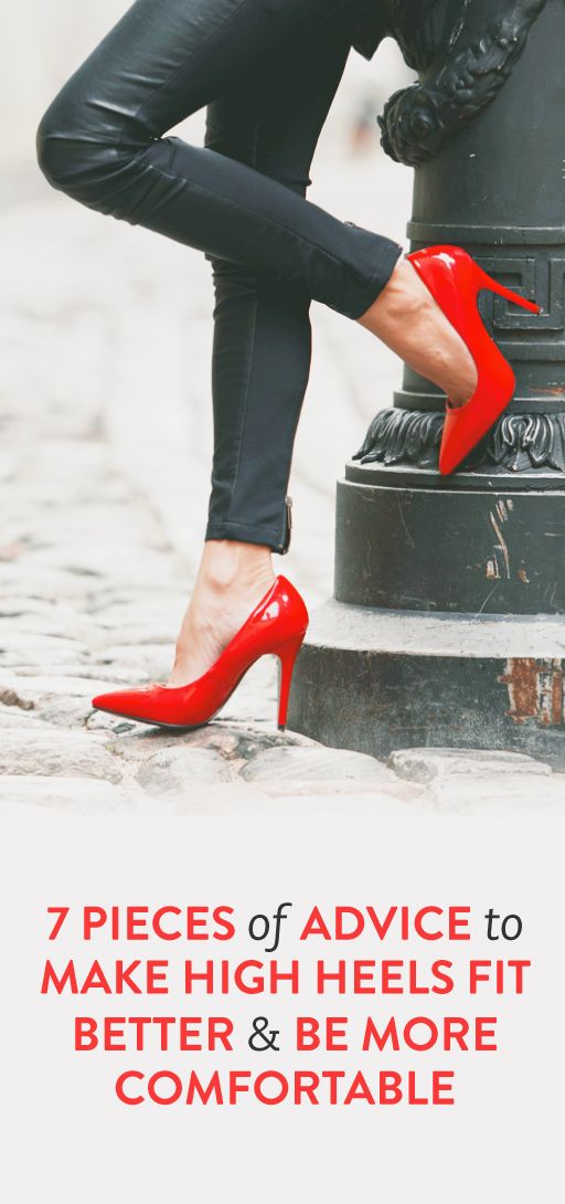 7 pieces of advice to make high heels fit