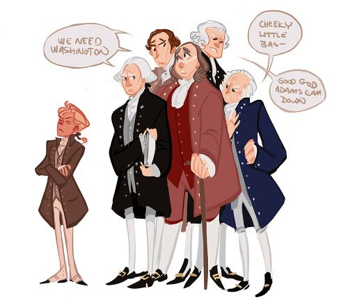 To lazy to draw backgrounds today. I'm still listening to the Revolution Documentary and got to the part where Washington becomes President and how everyone in the conditional congress knew that the American people wouldn't accept anyone else for the job but him.