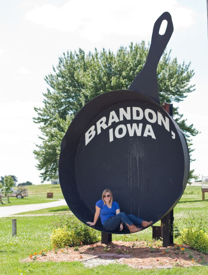 11. The world's largest frying pan.  I am close to this but never knew it existed.  I'm going to have to take a road trip!