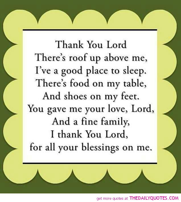 Thank You Lord For My Son Quotes: Thank You Lord For Your Blessings On Me