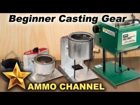 ▶ Getting started casting bullets - Choosing equipment for lead bullet casting, beginner, reloading - YouTube