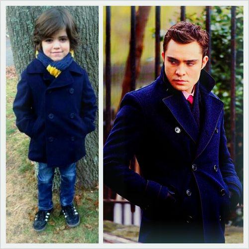 Blair waldorf and chuck bass son