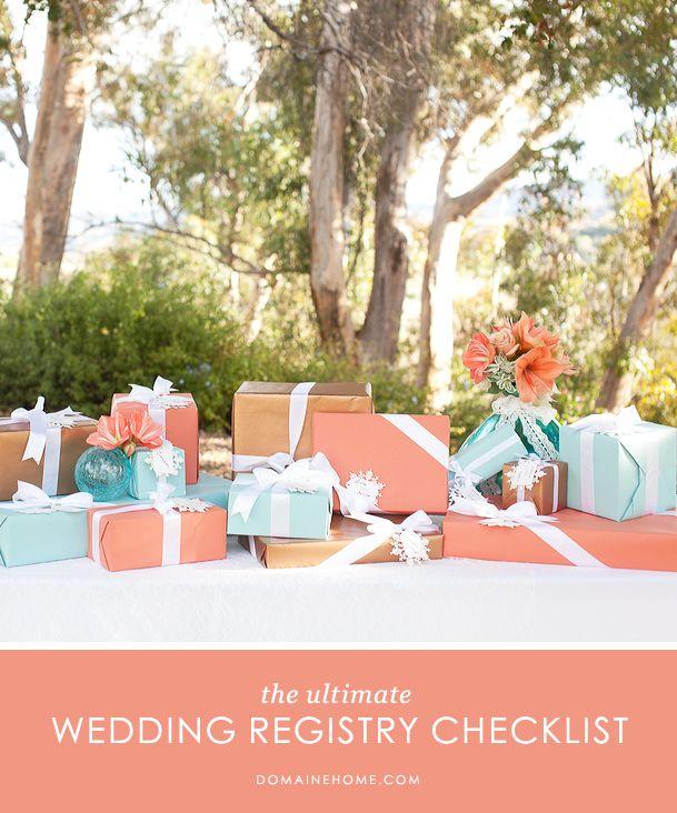 Wedding Gift Registry Guidelines : ... Gift Registry, Bridal Registry Checklist, Perfect Wedding, Definition