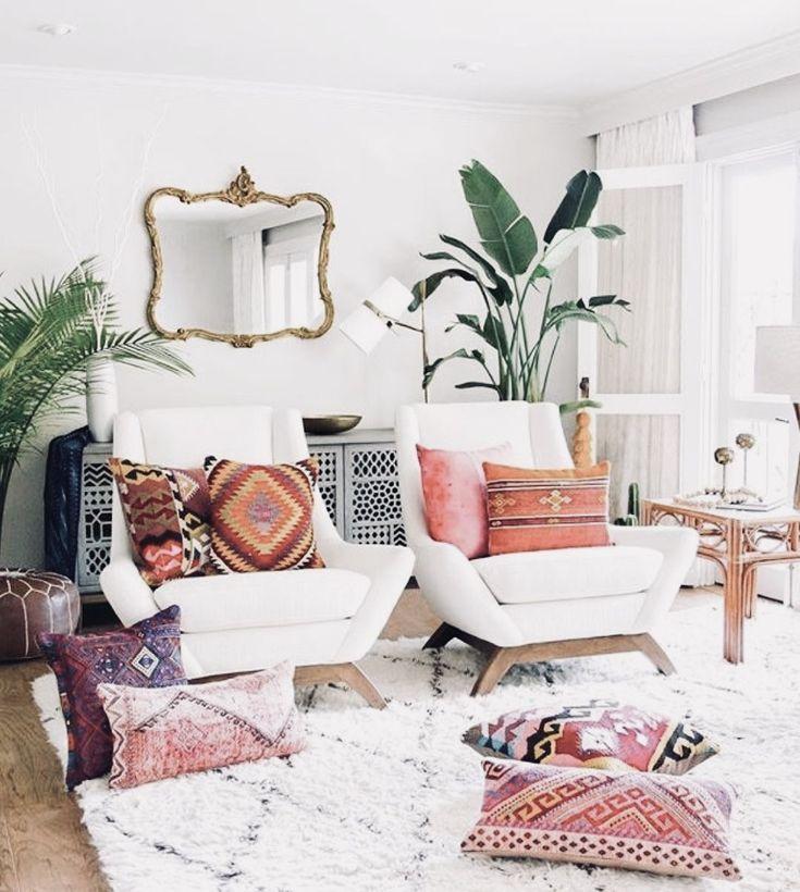 What S Hot On Pinterest 7 Bohemian Interior Design Ideas Brick