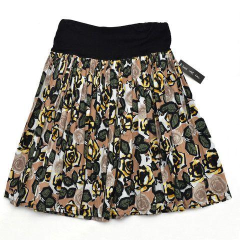 Adult Floral Skirt | KAF - Kristen Fordham Adult range 51 Mackelvie St, Grey Lynn, Auckland. #womens skirts #womens fashion