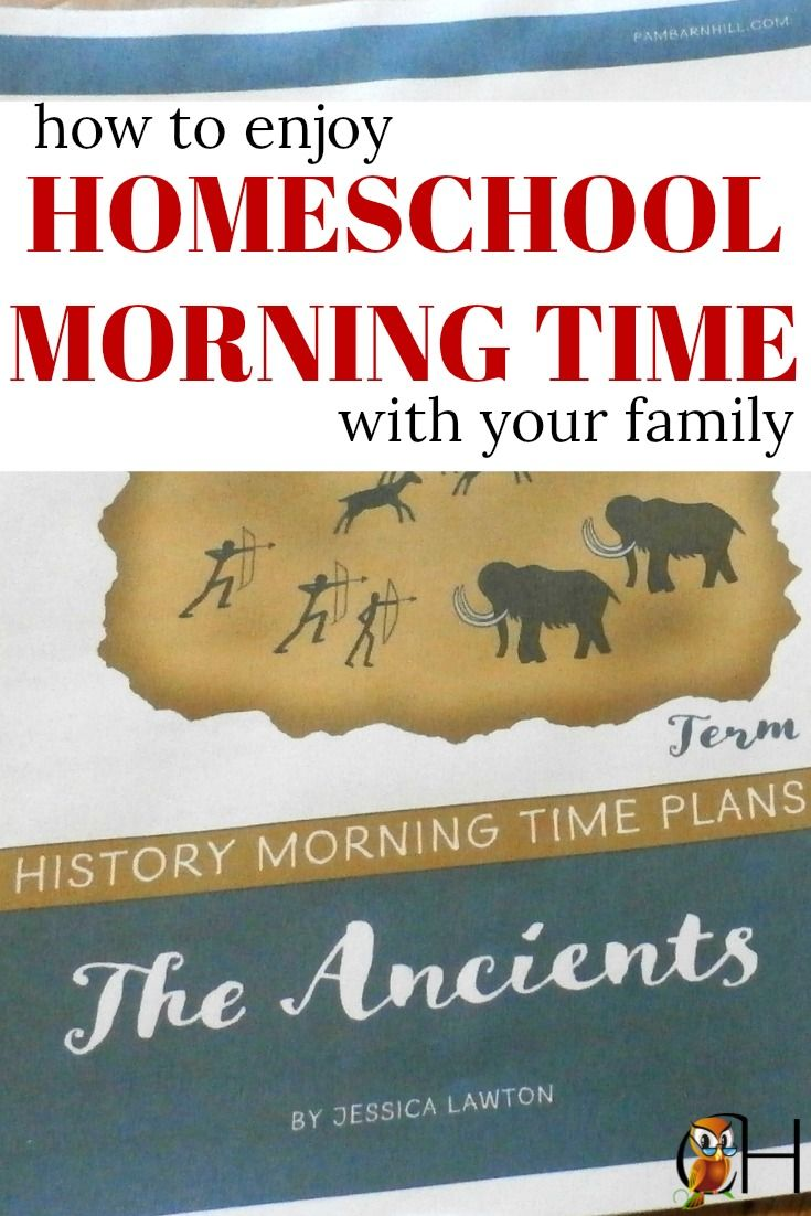inside: how to enjoy a beautiful homeschool morning time with your family without going crazy via @classichomesch