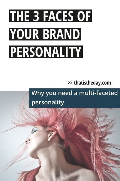 Successful companies understand the need to connect with their audience on a personal level. It's not enough anymore to just tell your audience about the quality of your product. That's where a brand personality comes into the game. It makes it possible for your company to sell more than a product. You have to sell an experience | thatistheday.com #branding #brandidentity #business #Business #CreativeEntrepreneurs #Personality