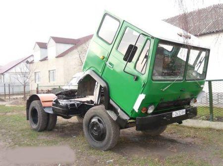 Седельный тягач КАЗ-608.