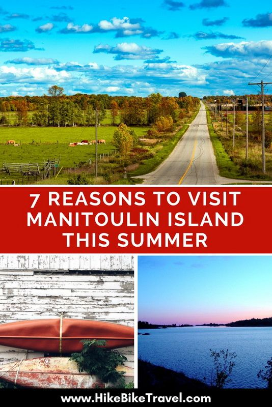 ~ 7 Reasons to Visit Manitoulin Island This Summer